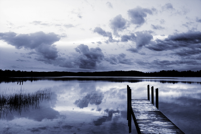 Moody Monochrome Dock