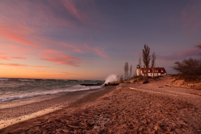 crashing-waves-warm-sunset-point-betsie-lighthouse-lake-michigan-11161170