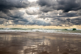 Rays, Ripples, and Waves - Lake Michigan Beach Textures
