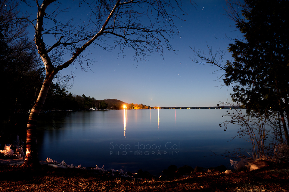 Photo: Alden, Michigan, night sky