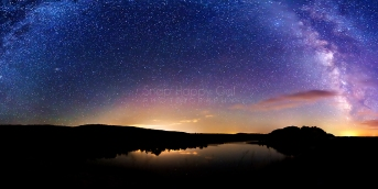 Photo: Panorama of the Milky Way over North Bar Lake