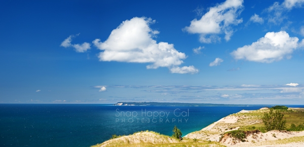 Photo: Sleeping Bear Dunes in the summer