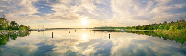 Photo: Warm light plays over Bowers Harbor, north of Traverse City