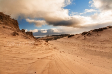 Photo: Sleeping Bear Dunes sand