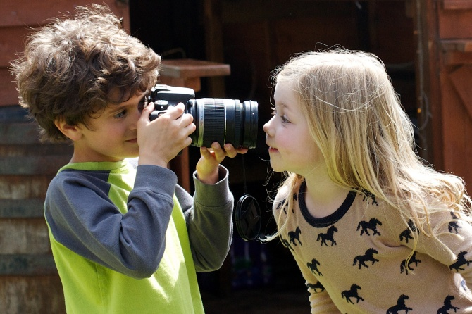 Five Tips for Teaching Your Child Photography