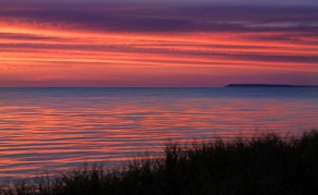 ripply-sunset-red-blue-Manitou-Island-Lake-Michigan-06193462